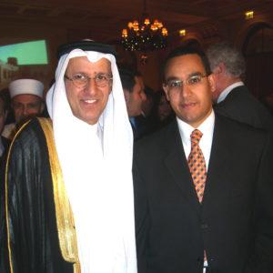 Με τον κ. Χαμάντ Αλ Μισνάντ