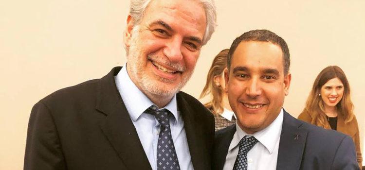 Με τον Ευρωπαίο Επίτροπο Ανθρωπιστικής Βοήθειας και Πολιτικής Προστασίας – Διαχείρισης Κρίσεων κ. Χρήστο Στυλιανίδη !