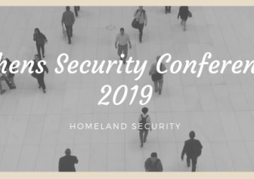 Athens Security conference 2019
