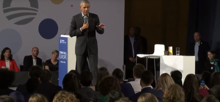 Obama to hundreds of emerging leaders in Berlin: Investing in yourself is the best investment for society. Watch the Video…