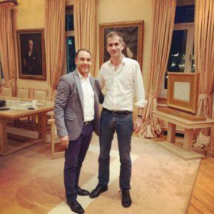 Συνάντηση με τον .Δήμαρχο Αθηναίων κ. Κώστα Μπακογιάννη