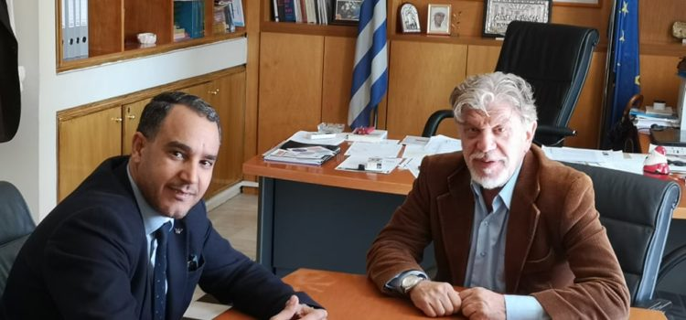 Meeting with Mayor N. Philadelphia – N. Chalkidonas for the Refugee Issue
